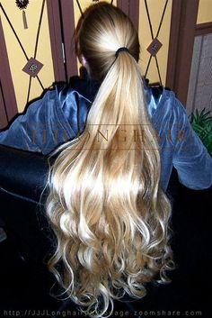 JJJ's long hair - most beautiful woman in America.