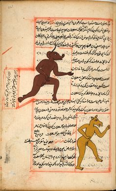 Female demons - Zakarīyā ibn Muḥammad al-Qazwīnī: 'Ajā'ib al-makhlūqāt wa-gharā'ib al-mawjūdāt (Marvels of Things Created and Miraculous Aspects of Things Existing)