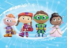 "Super Why - TV Show Review of Super Why on PBS KIDS. ""Children LOVE this show, and they really do practice and talk about what they learn on the show. I have heard several children in public places pointing out ""super letters"" to their parents as they pass signs or products"" (Bryson, Carey,Kids Movies & T.V Expert). 4.5 STAR RATING"
