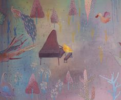 這是關於一個愛彈鋼琴的女孩追逐夢想的故事