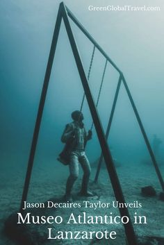 Marine conservation artist Jason deCaires Taylor unveils his Museo Atlántico in Lanzarote, Spain. See stunning photos of Europe's first underwater museum!
