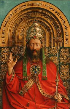 Jesus The King | Christ the King, Ghent Altarpiece