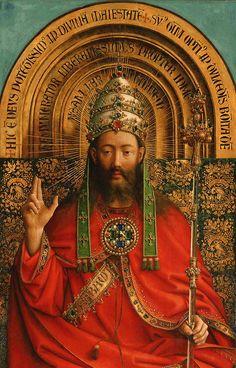 by-grace-of-god: chi-the-rho: (via Retable de l'Agneau mystique) Ghent Altarpiece - Jan Van Eyck