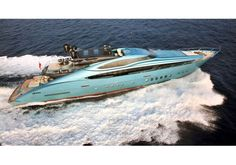 Superyacht Blue Ice - Available for viewings at anchor at MYS2012