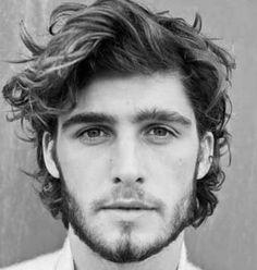 Wavy Hairstyles For Men - Wavy Hair Long