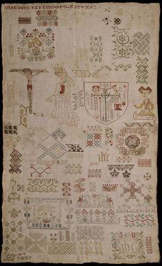 Sampler, Germany, 1500-1550
