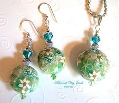 polymer clay beads | Polymer Clay Beads, Pendants, and Unique Jewelry Designs by Adorned ...