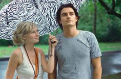 Still of Kirsten Dunst and Orlando Bloom in Elizabethtown. I don't care how many movies I watch, this will remain my favorite!