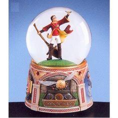 Quidditch snow globe