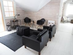lobby scandinavian home balmuir eames vitra black
