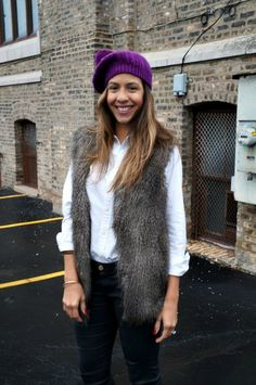 How to Make Silly Winter Hats Look Stylish