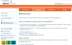 Applications help https://www.aamc.org/students/applying/amcas/amcasresources/