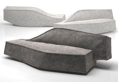 Airberg seating by Jean-Marie Massaud for Offecct