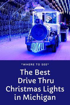 Michigan's 10 Best Drive Through Christmas Lights for 2020 - grkids.com Christmas Light Show, Christmas Light Displays, Christmas Mom, Christmas Scenes, Christmas Music, Holiday Lights, Christmas And New Year, Christmas Lights, Xmas