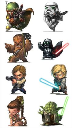 Star Wars ★ Find more at http://www.pinterest.com/competing/