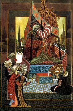 Errol Le Cain - Aladdin - sample