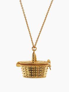 kate spade's picnic basket locket