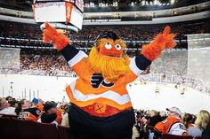 Gritty Philadelphia: How the Flyers Made Their Mascot a SuccessYou can find Philadelphia flyers and more on our website.Gritty Philadelphia: How the Flyers Made The. Flyers Players, Flyers Hockey, Hockey Players, Hockey Girls, Hockey Mom, Ice Hockey, Philadelphia Flyers Logo, Secretly Married, Pittsburgh Penguins Hockey