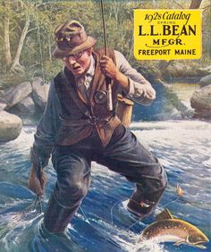 1000 images about l l bean catalog covers on pinterest for Ll bean fishing