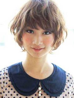 Haarschnitte für Kurze Gewellte Haare Überprüfen Sie mehr unter http://frisurende.net/haarschnitte-fuer-kurze-gewellte-haare/30927/