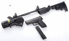 Hera Arms Tiarii turns a pistol into a carbine