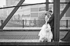 CITY BRIDGES. Chicago's Bridges are a work of art themselves. Great for wedding photography, too. Photo: Danielle Aquiline. Wedding photos; wedding photography; wedding photo ideas; Chicago wedding photography locations; Chicago wedding photo location ideas. #WeddingPhotos #WeddingPhotography