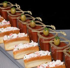 lobster rolls and bloody mary's! Not a fan of bloody's but the lobster rolls look delic!