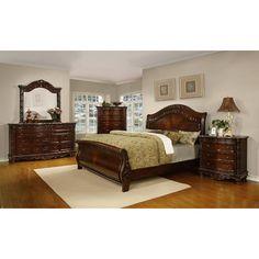 Wynwood cordoba king mansion bed jordan 39 s furniture home pinterest bedroom bedroom for Jordans furniture bedroom sets