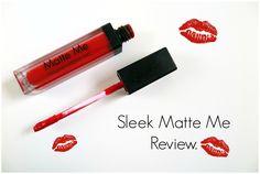 Sleek - Matte Me Review | Rioja Red. - Beauty-Blush