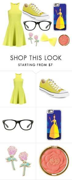 """""""Modern Belle"""" by lauren53103 on Polyvore featuring Elizabeth and James, Converse, Casetify, Big Bud Press, Milani, modern, belle and Costume"""