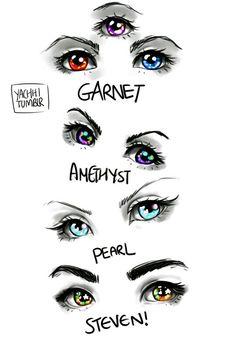 Steven Universe - Eyes