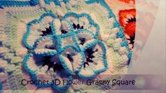 How to Crochet 3D Granny Square Flower, It is a video tutorial how to crochet this beautiful 3D Granny Square Flower. Another creation of crochet art ! This Pattern is adorable and easy to make. Try This Super Easy And Beautiful Crochet And You Will Be Happy With Your Creation. One Of The Best Video …