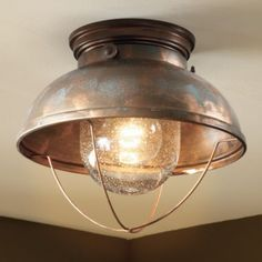 Unique Ceiling Lodge Rustic Country Antique Bronze Brass Copper Lighting Light Fixture from Vick's Great Deals. Lodge Decor, Home Lighting, Rustic Ceiling, Rustic House, Light, Lights, Rustic Ceiling Lights, Ceiling Lights, Copper Lighting