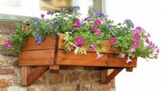 Wall or Window Box Planter
