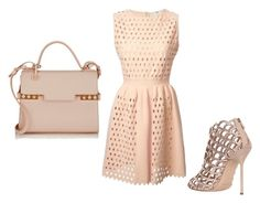 """""""Untitled #9"""" by ibricsemir ❤ liked on Polyvore featuring Fendi, Sergio Rossi and Delvaux"""