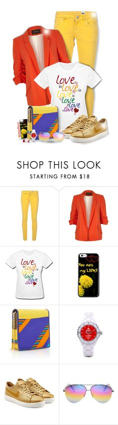 """Snapmade"" by asia-12 ❤ liked on Polyvore featuring M Missoni, River Island, Rianna + Nina, NIKE, Victoria Beckham, Bling Jewelry and snapmade"