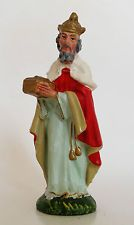 Italy Nativity standing Wiseman 1950s 1960s vintage composition replacement
