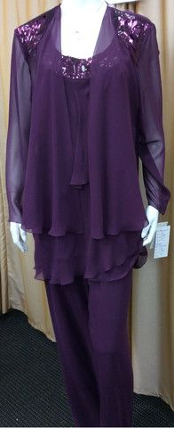 Pant Suit 27 | Isabella Fashions | Mother of the bride dresses, plus sizes, and evening wear