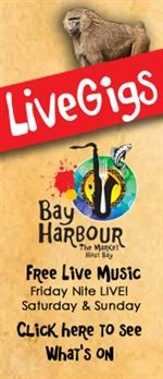 Live gigs at Bay Harbour Market .. check out What's On the Sound Stage! @Bayharbourmkt