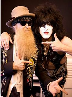 Billy Gibbons & Paul Stanley