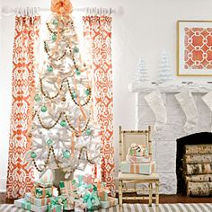 3 Fabulously Festive Christmas Trees | Snow White Decorations | SouthernLiving.com