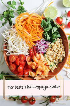 Das beste Thai-Papaya-Salat-Rezept - Carmen Segattini