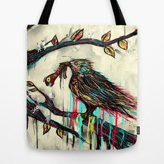Savior Tote Bag by DizzyNicky - $22.00