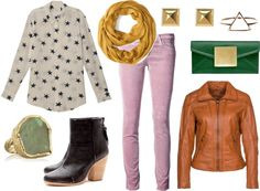 I have some ideas for a stylish outfit for the Fall weather. It's gorgeous outside in the Fall, but you don't to cover up your gorgeous outfit all the way.