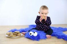 Cookie Monster area rug