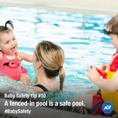 Don't let your baby go swimming without you! Take safety precautions. Baby Safety, Safety Tips, Best Motto, Safety Precautions, Injury Prevention, New Parents, Caregiver, How To Know, Things To Come