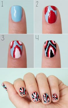 #tribal #nails