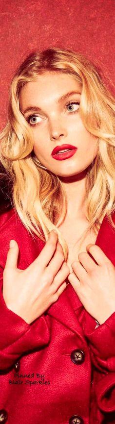 Elsa Hosk For Love And Lemons 2016 Holidays Ad Campaign  ♕♚εїз   BLAIR SPARKLES  