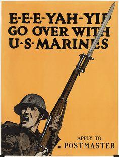 E-E-E-Yah-Yip. Go over with U.S. Marines by Boston Public Library, via Flickr