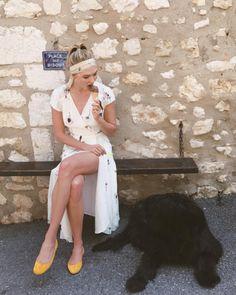 Karlie Kloss in the Carina Dress.